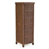 3706 Wicker 6 Drawer Lingerie Chest