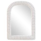 3708 Wicker Mirror Cotton