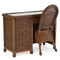 3700 Series 4 Drawer Desk and Desk Chair Coffee Bean