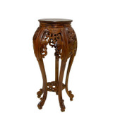 Wooden Teak Pedestal Table