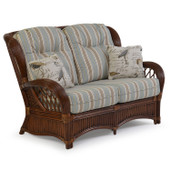 5402 High Back Rattan Loveseat (alternate view)