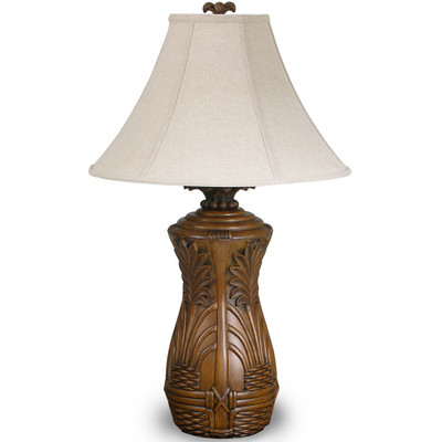 Superb Bali Tropical Table Lamp