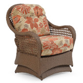 6706 Outdoor Spring Chair Driftwood Finish