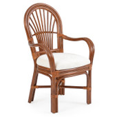 5510 Dining Arm Chair Pecan Glaze