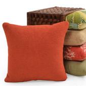 Two Toned Custom Throw Pillow