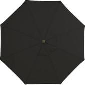 9 Foot Black Umbrella
