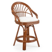 5544 Counter Height Stool Pecan Glaze