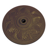 Bronze Aluminum Umbrella Base