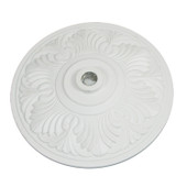 White Aluminum Umbrella Base