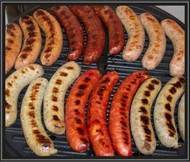 Beef & Cheddar-Brats - 6 pack