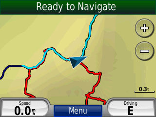 GPS Track Back Feature