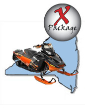 New York snowmobile GPS trail map