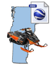 Vermont Snowmobile Map Data