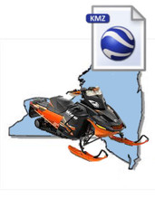 New York Snowmobile Map Data