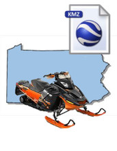 Pennsylvania Snowmobile Map Data
