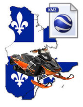 Quebec Snowmobile Map Data