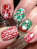 white-wedding-fire-engine-red-emerald-green-girly-bits-cosmetics-canadian-nail-fanatic-link.jpg