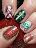 white-wedding-fire-engine-red-emerald-green-golden-ticket-girly-bits-cosmetics-canadian-nail-fanatic-link.jpg