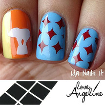 4 Point Star Nail Shields