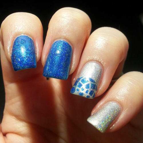 Photo credit Begin Nails | GIRLY BITS COSMETICS Stuck On Love Dreamcatcher Nail Shield
