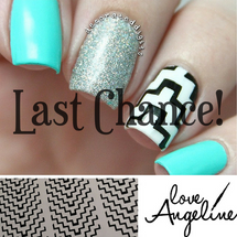 Tribal Chevron Nail Shields