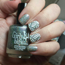 Triple Line Stuck on Love Nail Shields by Love Angeline available at Girly Bits Cosmetics www.girlybitscosmetics.com (photo credit: @nails.by.beth)