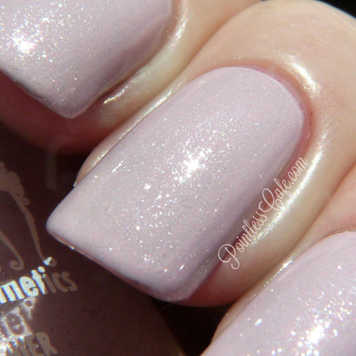 Swatch courtesy of Pointless Cafe | GIRLY BITS COSMETICS Love Your Elf