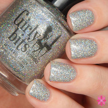 Swatch courtesy of Cosmetic Sanctuary | GIRLY BITS COSMETICS Don't Tangle Your Tinsel