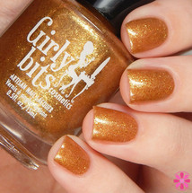 Swatch courtesy of Cosmetic Sanctuary | GIRLY BITS COSMETICS Blazing Yule Before Us