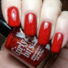Swatch courtesy of Pointless Cafe | GIRLY BITS COSMETICS Little Red Toque