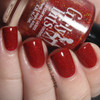 Swatch courtesy of Lavish Layerings | GIRLY BITS COSMETICS Little Red Toque