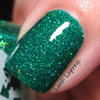 Swatch courtesy of Lavish Layerings | GIRLY BITS COSMETICS Jiminy Christmas