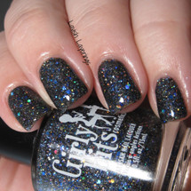 Swatch courtesy of Lavish Layerings | GIRLY BITS COSMETICS Coal Dancer