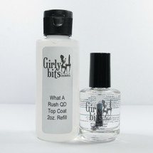 (2oz Refill + 15mL) What A Rush Quick Dry Top Coat