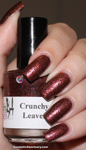 Swatch courtesy of Cosmetic Sanctuary | GIRLY BITS COSMETICS Crunchy Leaves