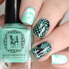 Ker-Minty Frog Here stamping polish | Girly Bits Cosmetics | photo by Polished Pathology