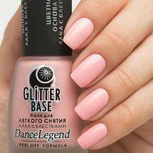Glitter Base Pink - Peel Off Formula | DANCE LEGEND available at Girly Bits Cosmetics www.girlybitscosmetics.com