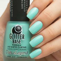 Glitter Base Mint - Peel Off Formula | DANCE LEGEND available at Girly Bits Cosmetics www.girlybitscosmetics.com