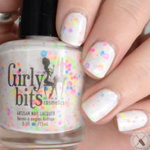 Swatch courtesy of Polished Pathology | GIRLY BITS COSMETICS Bonbon D'Amour from the Sweet Nothings Collection