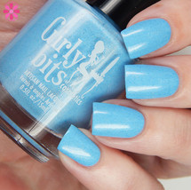 Swatch courtesy of Cosmetic Sanctuary | GIRLY BITS COSMETICS Bleu de tes Yeux Sweet Nothings Collection