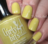 Swatch courtesy of The PolishAholic   GIRLY BITS COSMETICS Mon Petit Canard Sweet Nothings Collection