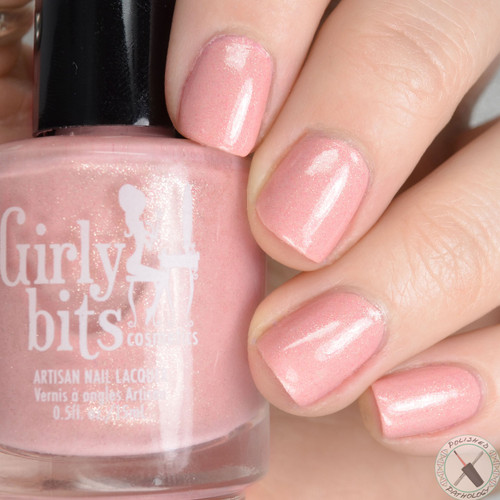 Swatch courtesy of Polished Pathology | GIRLY BITS COSMETICS Mon Chéri Sweet Nothings Collection