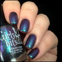 Swatch courtesy of @honeybee_nails | GIRLY BITS COSMETICS Hookah Smoking Caterpillar from the A Little Madness Collection
