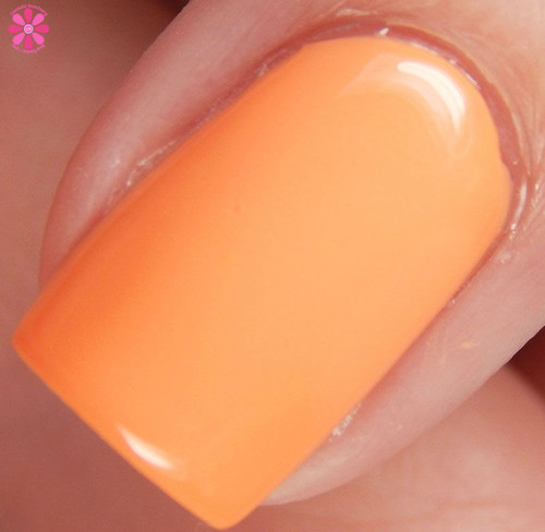 Swatch courtesy of Cosmetic Sanctuary | GIRLY BITS COSMETICS Peach Slapped (June 2016 COTM)