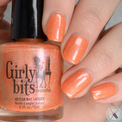 Swatch courtesy of Polished Pathology | GIRLY BITS COSMETICS A Little Madness from the A Little Madness Collection