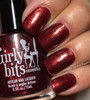Swatch courtesy of My Nail Polish Obsession | GIRLY BITS COSMETICS Heads Will Roll from the A Little Madness Collection