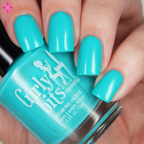 Swatch courtesy of Cosmetic Sanctuary | GIRLY BITS COSMETICS Here's Lagoon Atcha (June 2016 COTM)