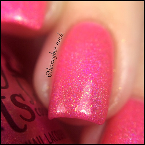 Swatch courtesy of @honeybee_nails | GIRLY BITS COSMETICS July 2016 COTM - Sun's Out Buns Out