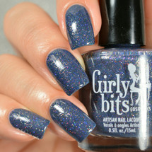 Swatch courtesy of Delishious Nails | GIRLY BITS COSMETICS How to Find a Naked Man (in Vegas) from the What Really Happened In Vegas 2016 Collection