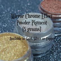 Mirror Chrome Effect Powder Pigment (5 grams)